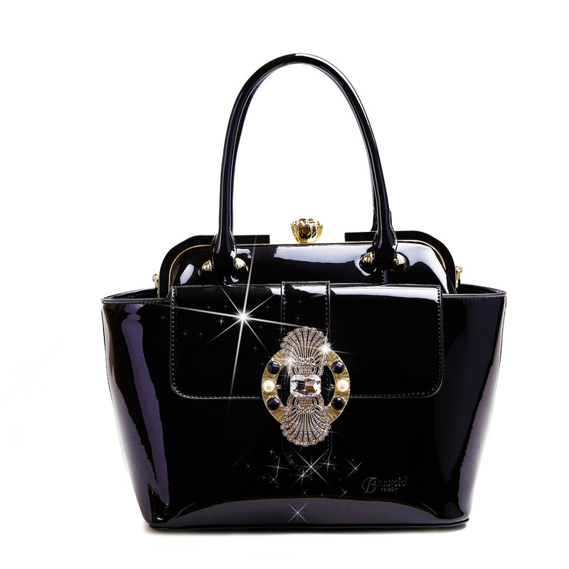 Queen's Crown Romance Multiple Pocket Bag - Brangio Italy Collections