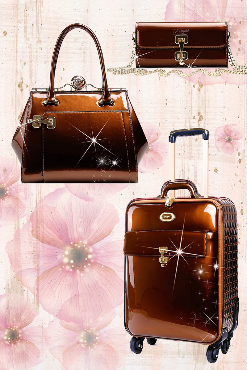 Euro Moda 3PC Set | Light Weight Luggage for the American Tourister - Brangio Italy Collections