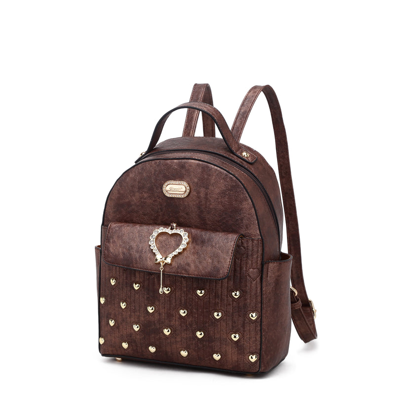 Heart Beat Handmade Travel Fashion Backpack - Brangio Italy Collections