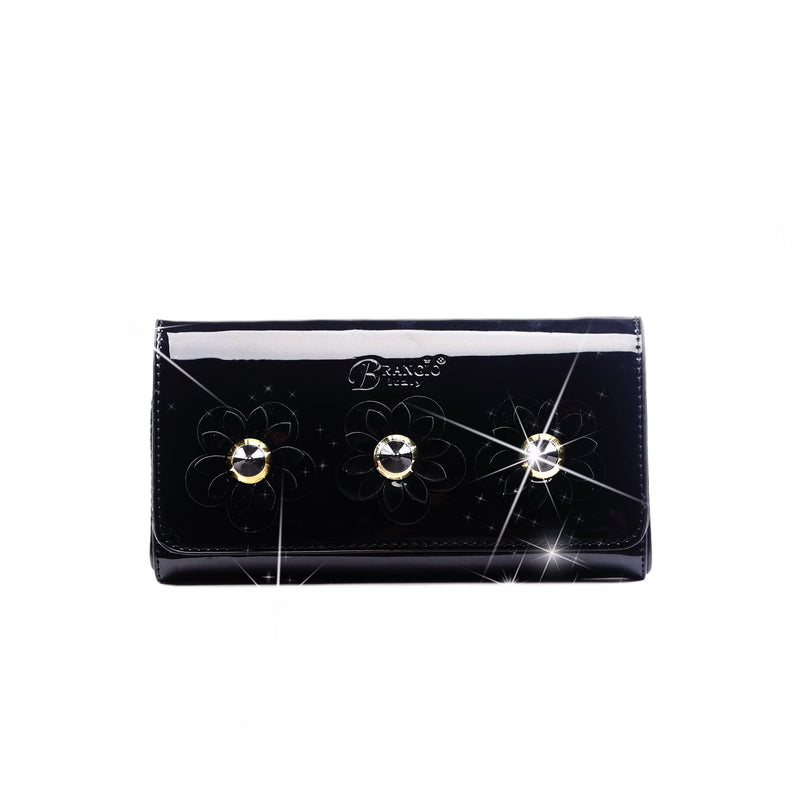Gemini Sunshine Crystal Fashion Wallet - Brangio Italy Collections