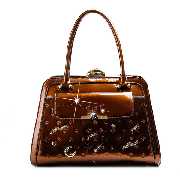 Meteor Sky Designer Crystal Handbags for Women - Brangio Italy Collections