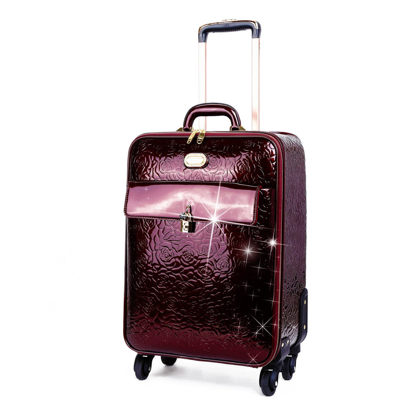 Rosy Lox Luggage For Women Rolling Suitcase Travel Bag - Brangio Italy Collections
