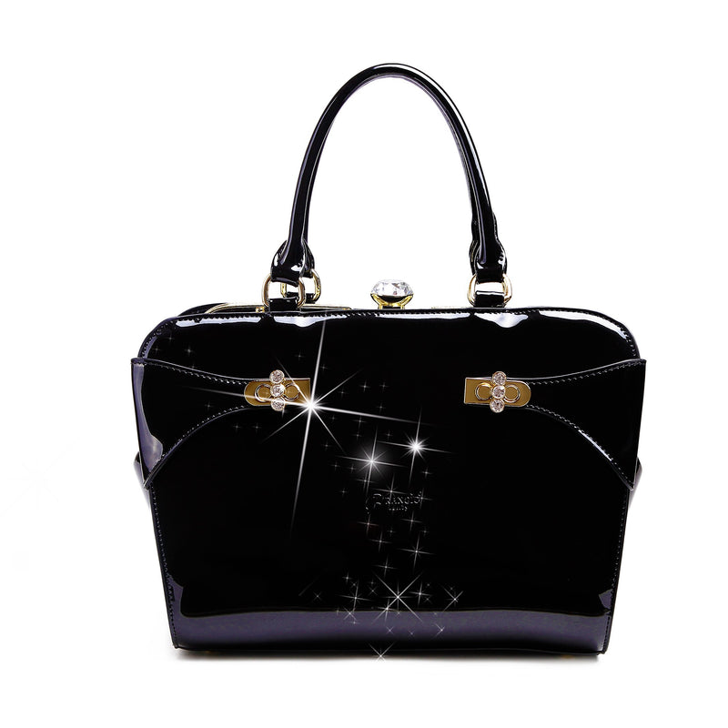 Tri-Star Minimalist Womens Fashion Purse - Brangio Italy Collections