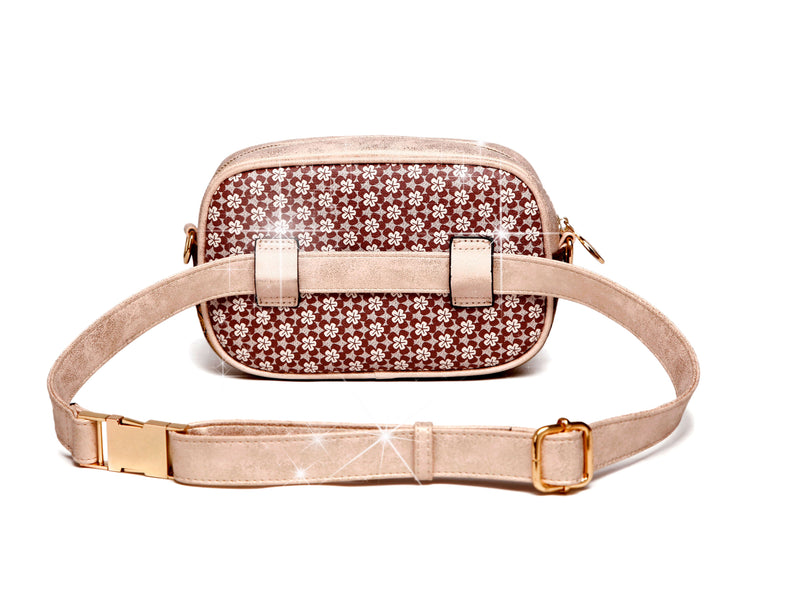 Twinkle Star Faux Leather Fanny Waist Bag Pack for Women - Brangio Italy Collections