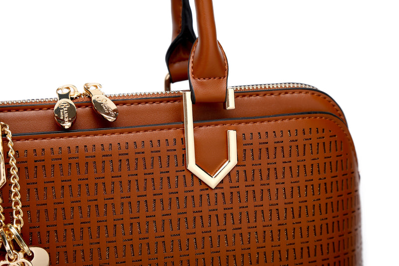Sacred Wings Handmade Unique Bling Medium Satchel - Brangio Italy Collections