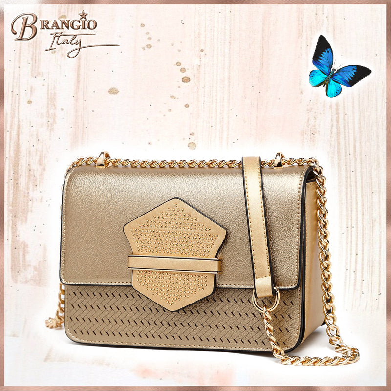 Chic Lover Handmade Crossbody Evening Bag - Brangio Italy Collections