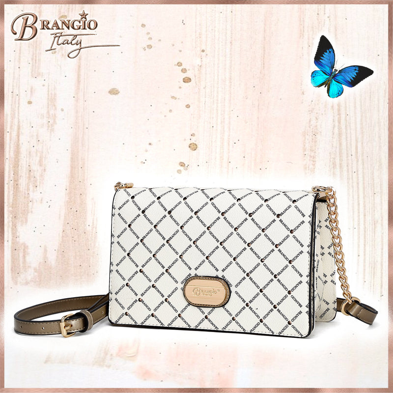 Iconic Love Handmade Crystal Evening Bag Clutch - Brangio Italy Collections