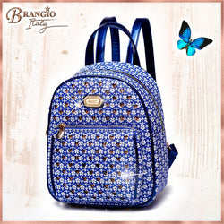 Galaxy Stars Mini Backpack Vacation Essentials Bag for Women - Brangio Italy Collections