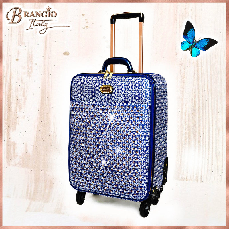 Galaxy Stars Clover Luxury Signature Travel Luggage - Brangio Italy Collections