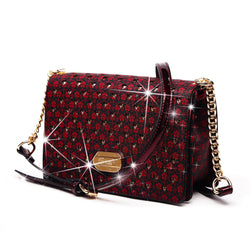 Galaxy Stars Clutch Womens Crossbody Bag With Back Slip Pocket - Brangio Italy Collections