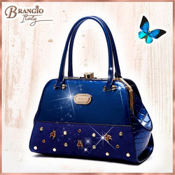 Honey Bee Adore Handmade Leather Shoulder Bag - Brangio Italy Collections