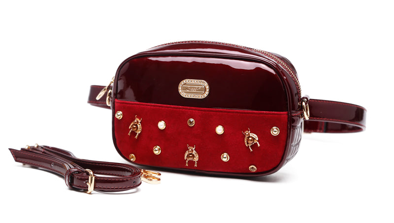 Honey Bee Fanny Waist Bag Pack for Women [ITEM#:RMF7758]