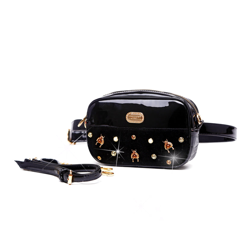 Honey Bee Fanny Waist Bag Pack for Women - Brangio Italy Collections