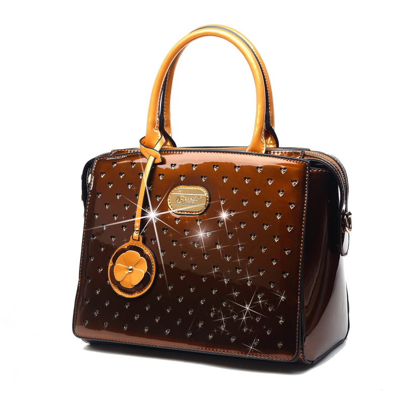 Starz Art Retro Womens Highend Fashion Leather Purses and Handbags - Brangio Italy Collections