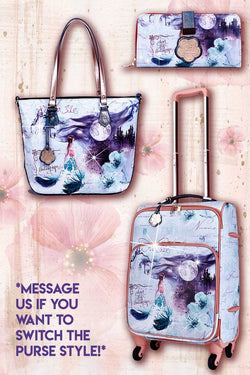Fairytale 3PC Set | Carry-on Underseat Travel Luggage with Spinners - Brangio Italy Collections