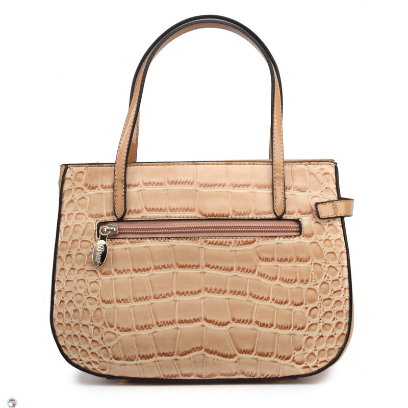 Croc Mini 100% Vegan Leather Minimalist Fashion Purse - Brangio Italy Collections