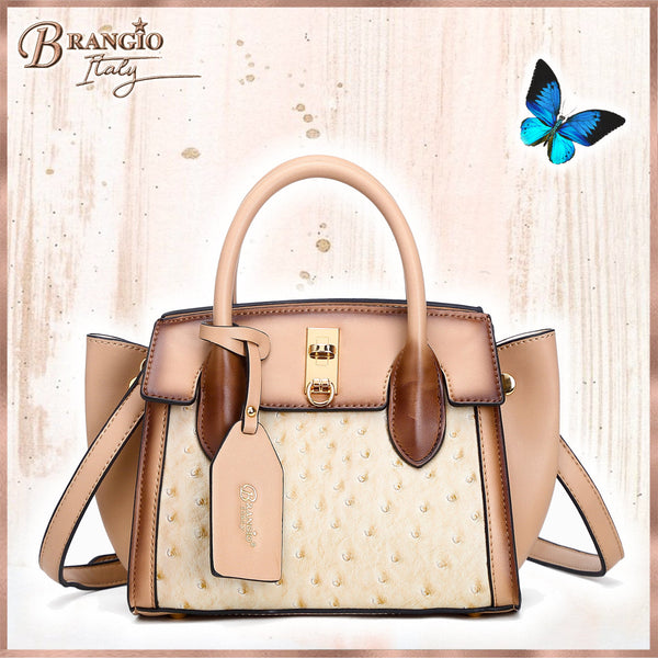 Croquilla 3D Laser Cut Mini Crossbody - Brangio Italy Collections