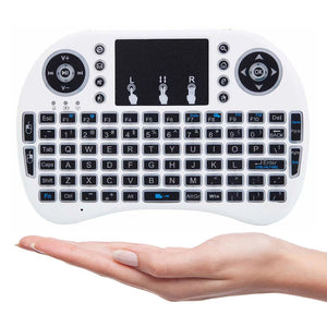 i8 Mini Wireless Keyboard (White)