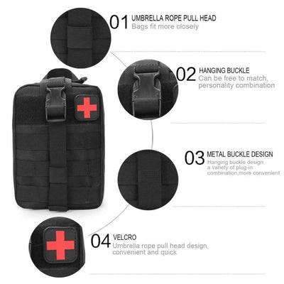 Medical First Aid Pouch - Grabea
