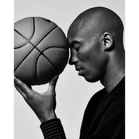 Broderie Diamant Basketteur Kobe