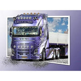 Broderie Diamant Camion Volvo