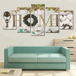 "Broderie Diamant ""Home"""