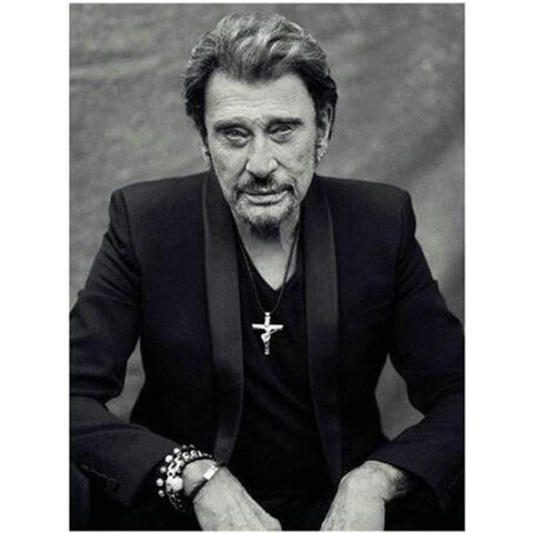 Broderie Diamant Johnny Hallyday