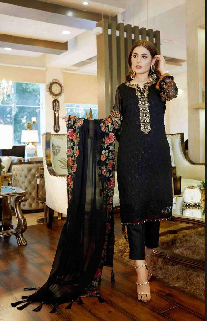 Tawakkal Pearl Collection 2019 Pakistani Salwar Suit DN-10A