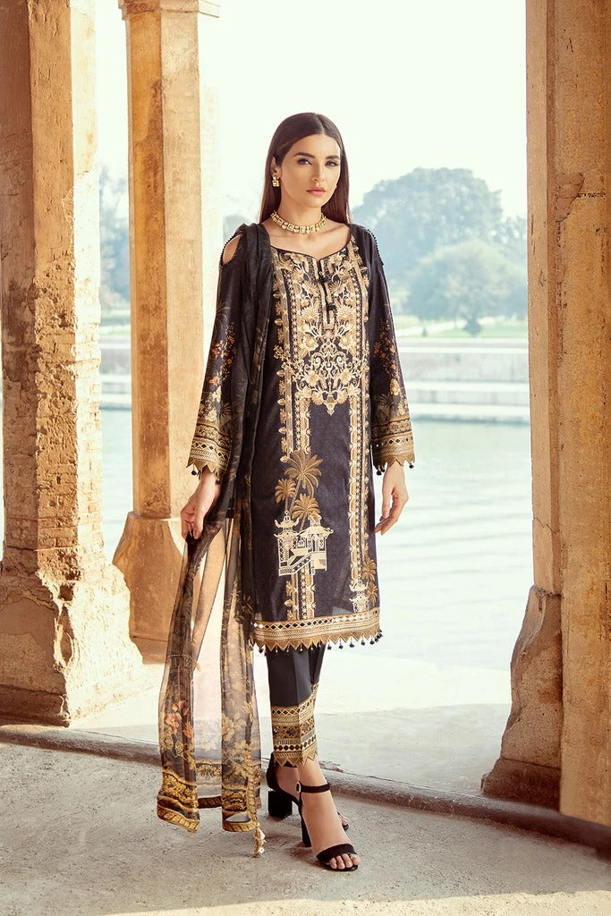 Ramsha Chevron Luxury Lawn Collection - 205