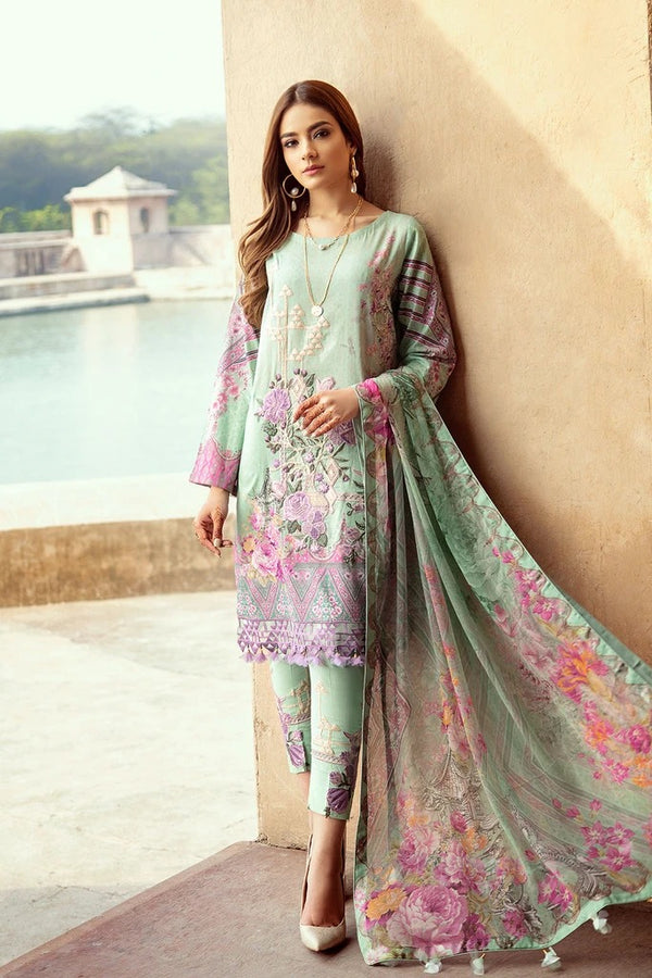 Ramsha Chevron Luxury Lawn Collection - 211