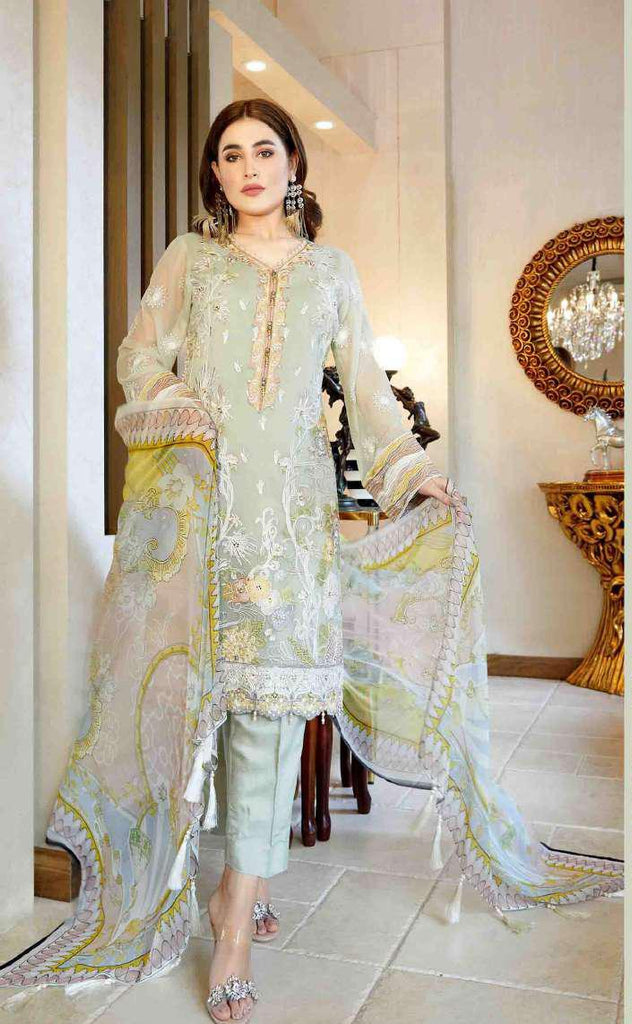 Tawakkal Pearl Collection 2019 Pakistani Salwar Suit DN-1A