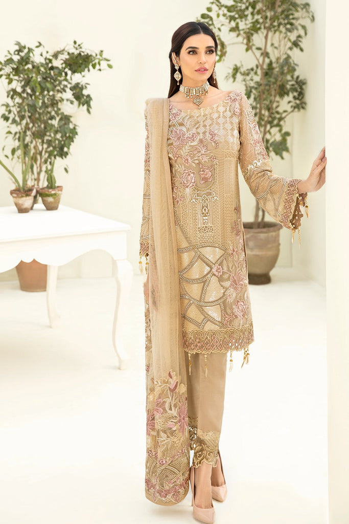 Ramsha Chevron Vol - 3 Chiffon Collection - A-312