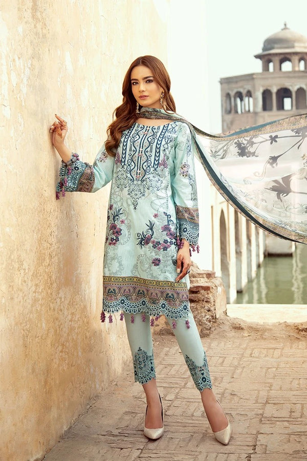 Ramsha Chevron Luxury Lawn Collection - 208