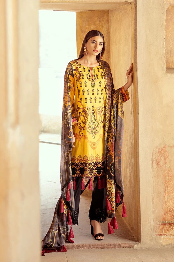 Ramsha Chevron Luxury Lawn Collection - 210