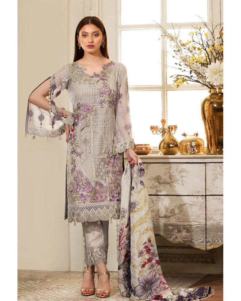Ramsha Rangoon Collection Vol 4 Pakistani Salwar Suit D-408