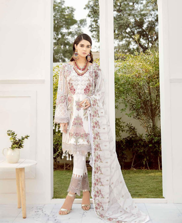 Ramsha Rangoon Volume 5 Original Pakistani Salwar Suit D-511