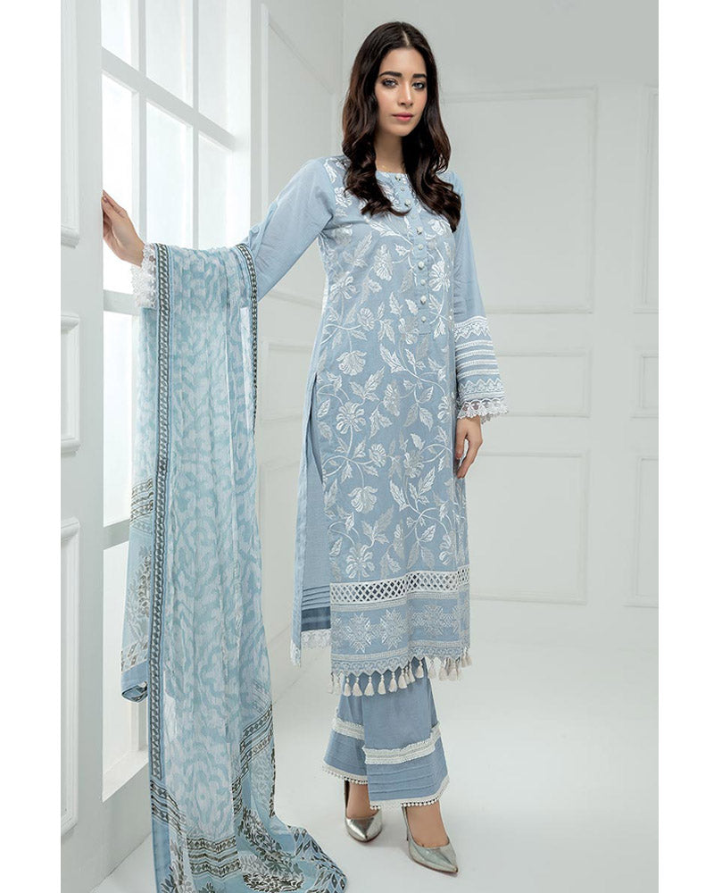 LSM Chikankari Essential Collection 2019 Salwar Suit DN-01