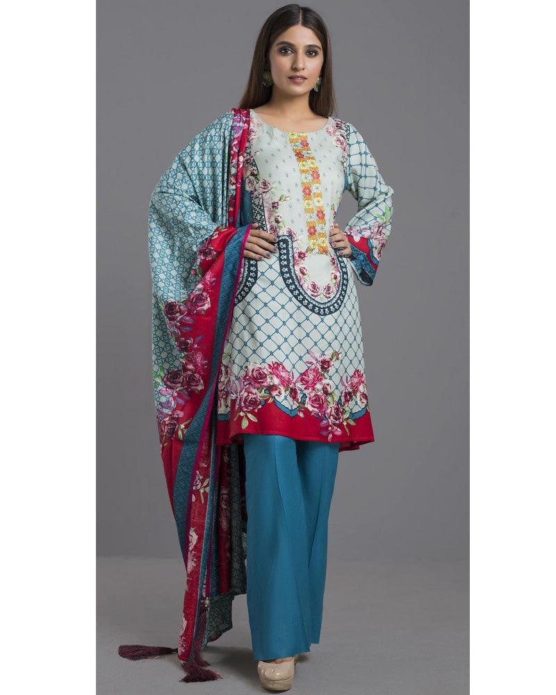 Sahil Winter Linen by ZS Pakistani Suits DN-01