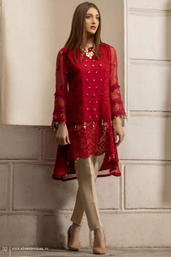 Azure Luxury Formal Pakistani Kurtis DN-01
