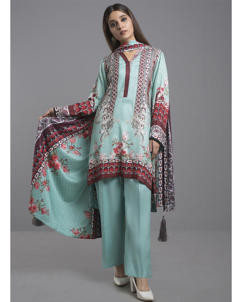 Sahil Winter Linen by ZS Pakistani Suits DN-02