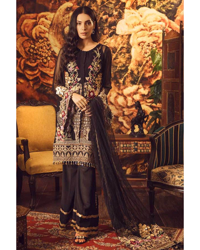 Adan Libas Wedding Festive Guzarish Luxury Chiffon Collection DN-02