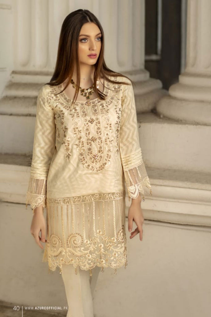 Azure Luxury Formal Pakistani Kurtis DN-02