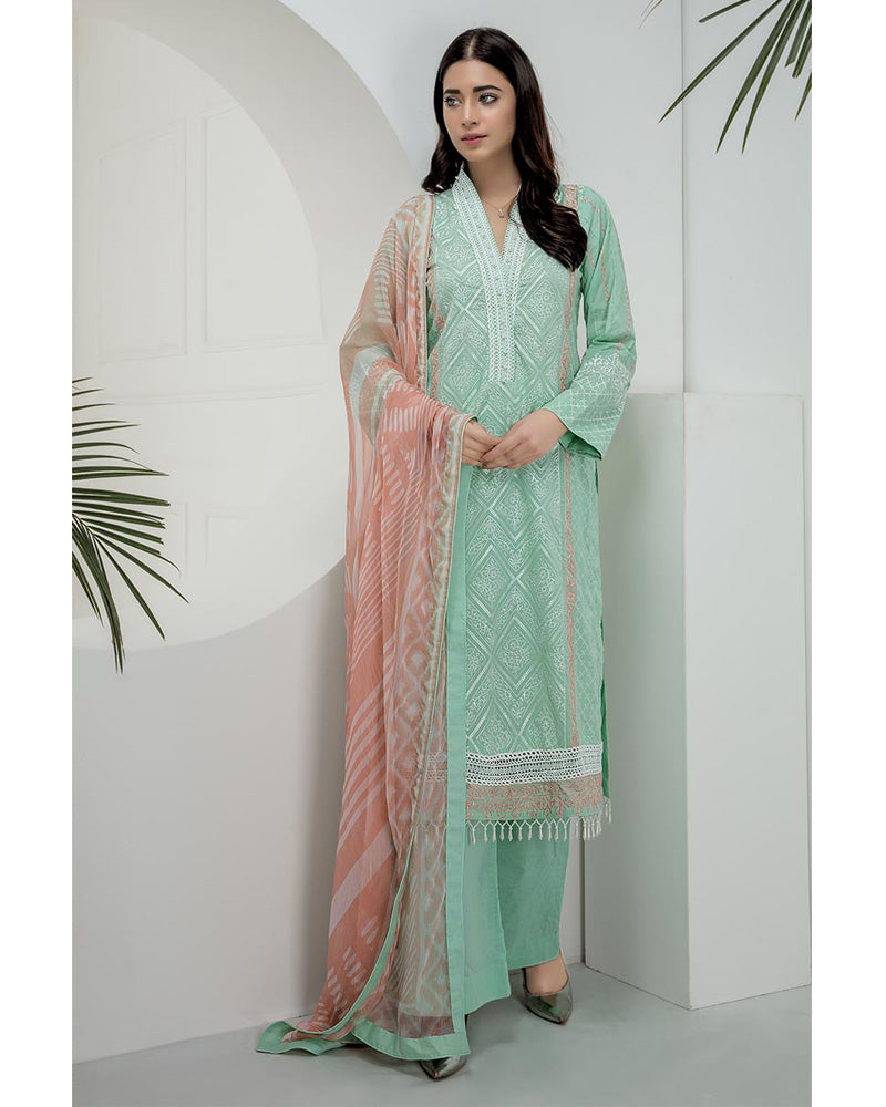 LSM Chikankari Essential Collection 2019 Salwar Suit DN-03