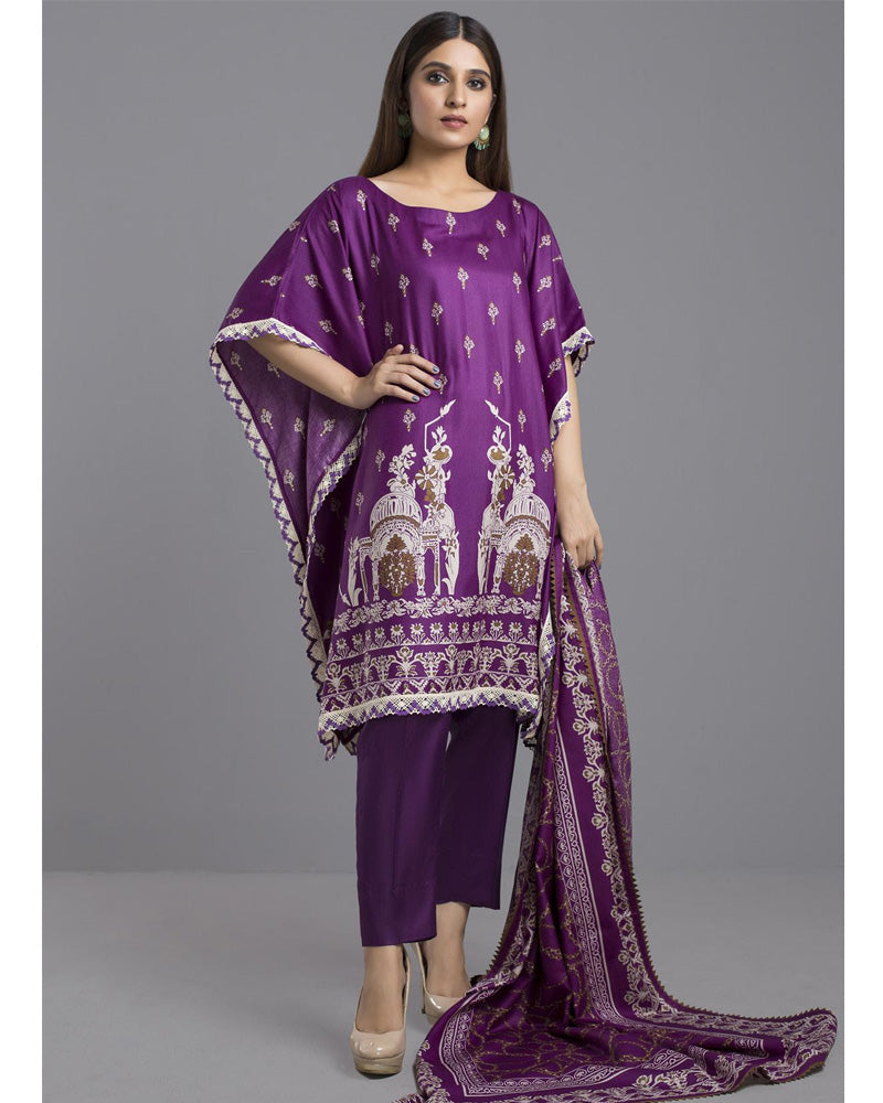Sahil Winter Linen by ZS Pakistani Suits DN-03