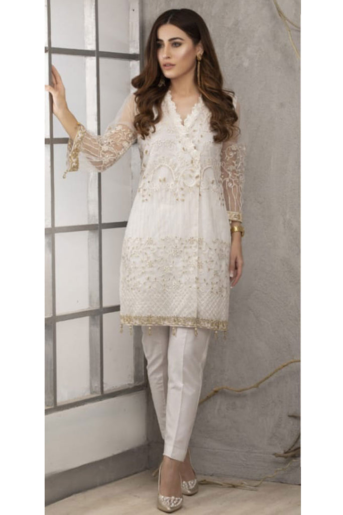 Azure Luxury Formal Pakistani Kurtis DN-03