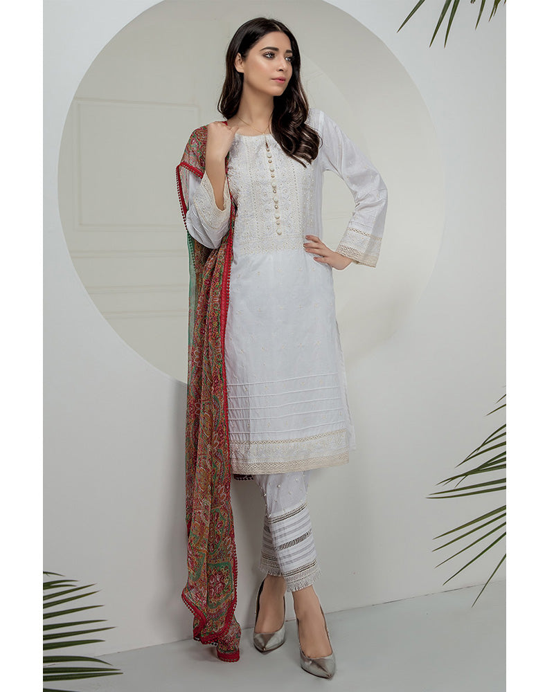 LSM Chikankari Essential Collection 2019 Salwar Suit DN-04