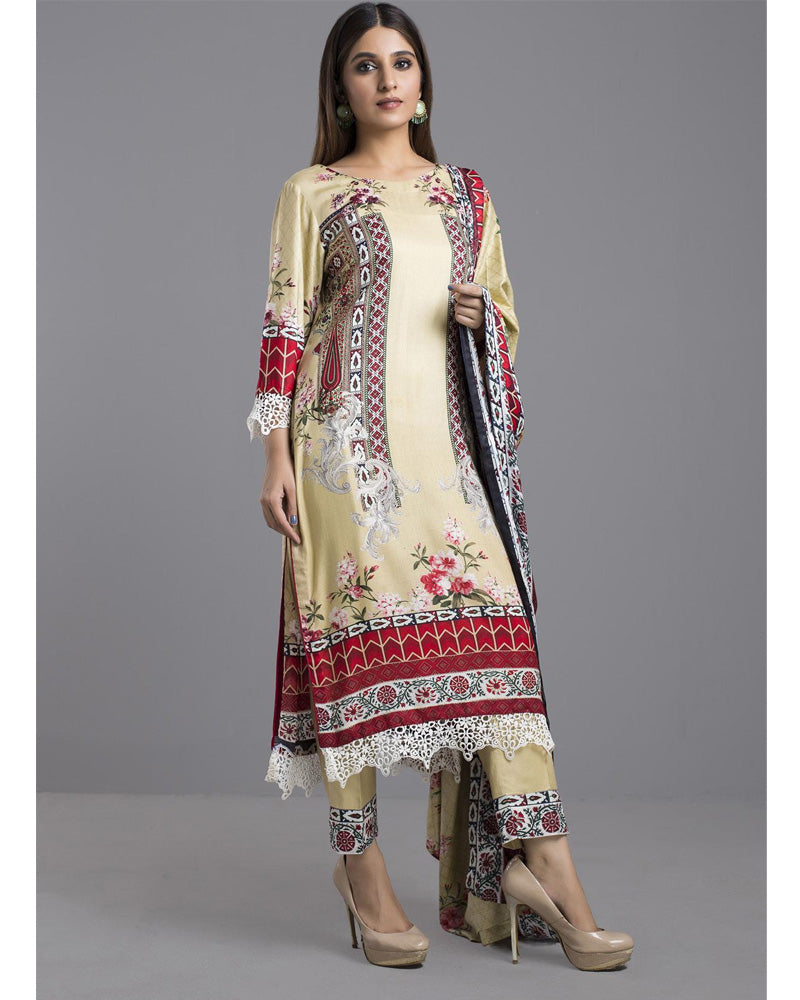 Sahil Winter Linen by ZS Pakistani Suits DN-04