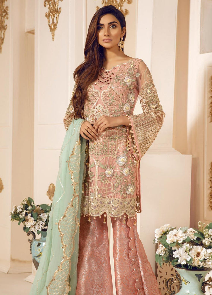 Mashq Premium Collection Embroidered Pakistani Suit - DN-04