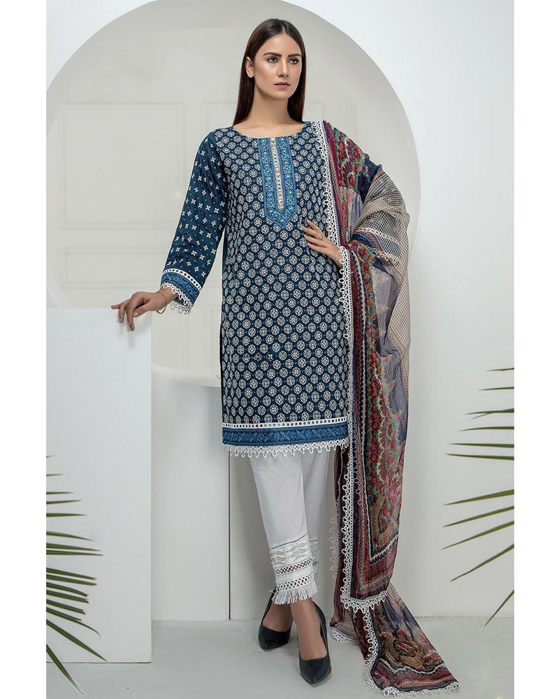 LSM Chikankari Essential Collection 2019 Salwar Suit DN-06
