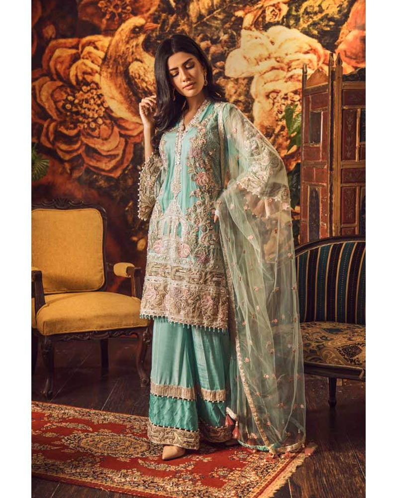 Adan Libas Wedding Festive Guzarish Luxury Chiffon Collection DN-06